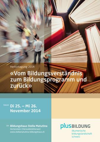 Einladung Herbsttagung 2014