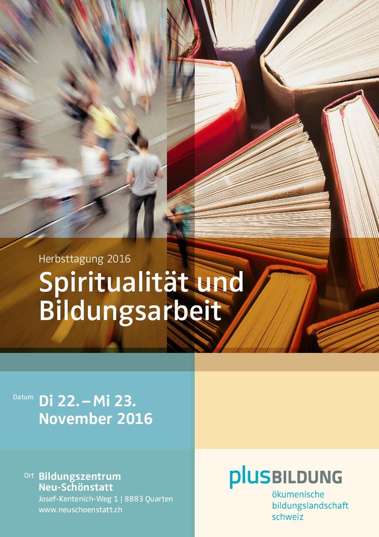 Einladung Herbsttagung 2016
